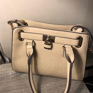 Charming Charlie Mini Lady Lockbox Satchel Handbag